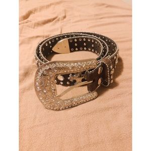 Blingy Western Belt!